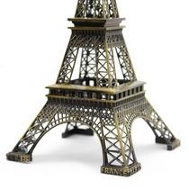 Miniatura Torre Eiffel Paris 32 Cm Metal Decoração