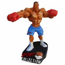 Boneco Resina Boxeador - Musculação- Halterofilismo