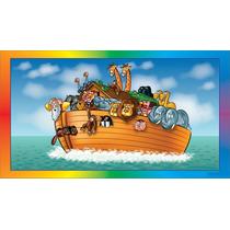 Painel Decoração De Festa Arca De Noé - 2x1,50