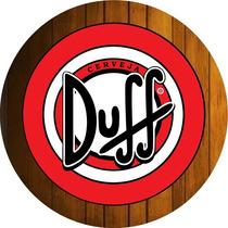 Quadro Decorativo Madeira Mdf Cerveja Duff Simpsons O Melhor