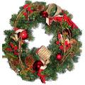 Guirlanda De Natal - Luxuosa, Grande E Cheia De Detalhes