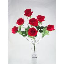 Buquê De Rosas Grandes - Maços Flores Artificiais