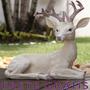 Escultura / Estatua / Estatueta Animal Cervo - Bu173