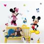 Adesivo Decorativo 3d Parede Vinil Removível Mickey Mouse