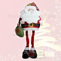 Papai Noel, Enfeite Decoração De Natal, Natalina Frete Justo