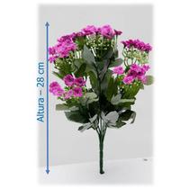 Flores Artificiais Importadas Buque Kalanchoe 28 Cm - 1 Unid