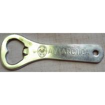 Abridor De Garrafa - Antigo - Cerveja Antárctica - Ab-s1