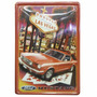 Placa Decorativa Metal Vintage Retrô Mustang Ford Las Vegas