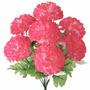 Bq Crisantemo C/7 Gyp Rosa 36cm(25973018)-flores Artificiais