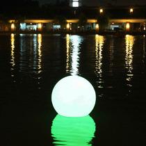 Esfera 50 Iluminada- Bola 50 Jardins- Led Rgb-à Prova D