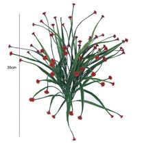 Capim Cravina 35cm Cores Diversas(0203)- Flores Artificiais