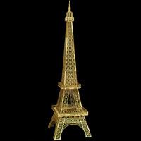Miniatura Torre Eiffel Mdf 65cm Decoração