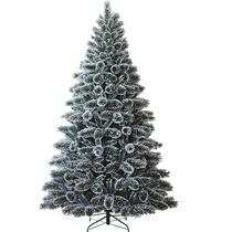 Árvore Natal Gigante Pinheiro Canadense Nevado 180 Cm 1,80m