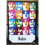 Quadro Decorativo Parede 95x65cm C/ Moldura The Beatles