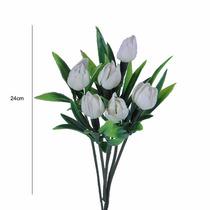 Pick Plastico Tulipa 72 Und. 24 Cm - Flores Artificiais