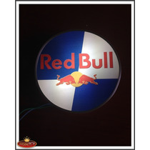 Luminosos Red Bull Para Bar E Churrasqueiras + Brinde