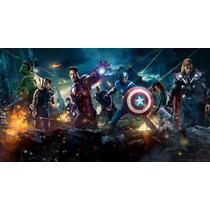 Painel Decoração De Festa Vingadores - Avengers - 2x1