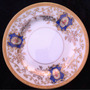 Prato Porcelana Japonesa Antiga C Ouro 16cm
