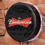 Luminoso / Luminária Parede Bar Com Led - Cerveja Budweiser