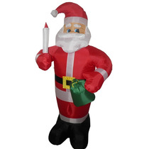 Papai Noel Gigante Natal Decorativo Inflavel De Natal Luz