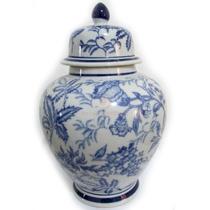 Jarro Porcelana Chinesa Feng Shui 25cm