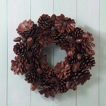 Pinha Natural Decorativa Decoração Artesanato Natal - 50 Und