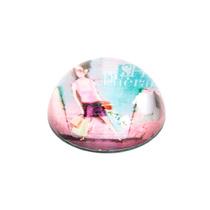 Peso De Mesa Girl Em Vidro - 8x8 Cm