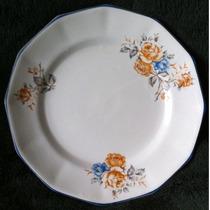 Prato Porcelana Antigo Porto Ferreira 18 Cm