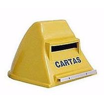 Caixa De Correspondencia Plastica Pvc /correio Carta Amarela