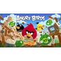 Painel Decoração De Festa Angry Birds - 2x1,50