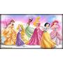Painel Decoração De Festa Princesas Disney - 3x2