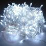Pisca Pisca 100 Lampada Led Branco Natal Natlino Luz Decorão