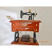 Mini Máquina De Costura, Réplica, Decorativa, Musical.