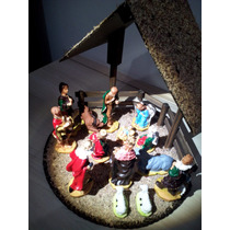 Presépio C/ Manjedoura 14peças 12cm = Santini Christmas