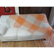 Super Manta Decorativa Lençol Para Sofa E Cama 2,5x2,1 Mts