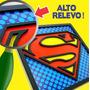 Kit 12 Quadros Em Relevo Super Heróis Avengers Batman Placa