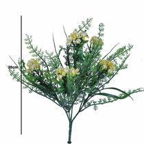 Buquê Plástico Flor X5 35 Cm - Flores Artificiais
