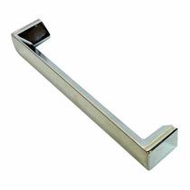 Puxador Para Armario Barato 128mm Cromado 12cm Abs