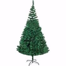 Árvore De Natal - Pinheiro Verde De 2,10 Metros + 100 Luzes