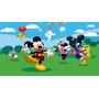 Painel Decoração De Festa Mickey E Minnie Mouse Disney - 3x2