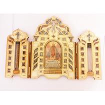 Oratorio De Madeira Nossa Senhora Aparecida!!