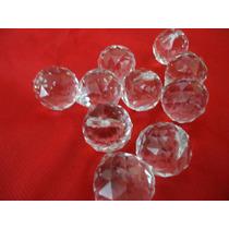 10 Esferas Cristal 30 Cm Montagem De Lustre