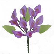 Mini Bq Copo Leite Eva 33cm C/12(02184) -flores Artificiais