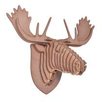 Cabeça Mdf 3d - Alce, Rinoceronte, Elefante Ou Urso