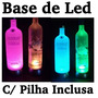 Base De Led Vodka, Big Apple, Absolut Garrafa Que Pisca