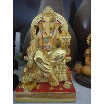 Estatueta Hindu Deus-elefante Ganesh