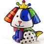 Escultura Beagle Romero Britto Resina Colorida