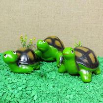 Tartarugas Família Trio Decoração Jaboti Para Jardim