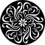 Quadro Decor Escultura Parede Vazada Mdf Mandala 80cm Ref121
