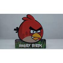 Angry Birds Kit Decorativo Mdf Para Mesa Aniversário 4 Peças